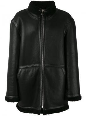 Куртка свободного кроя Études. Цвет: чёрный