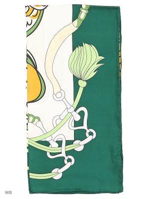 Платок Palantini. Цвет: зеленый