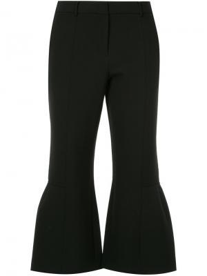 Укороченные брюки клеш Ck Calvin Klein. Цвет: чёрный