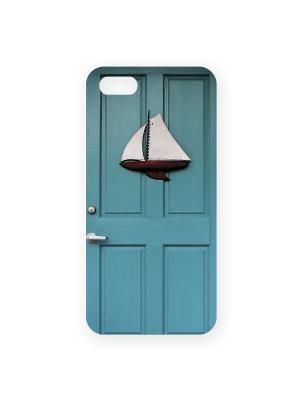 Чехол для IPhone 5 Голубая дверь Mitya Veselkov. Цвет: голубой