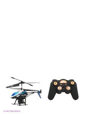 Игрушка радиоуправляемая Вертолет От винта. Цвет: черный, синий, белый