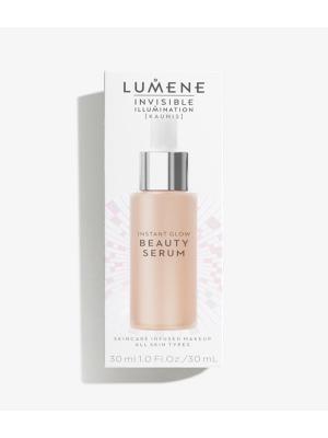 Lumene Invisible Illumination Ухаживающая сыворотка-флюид, оттенок Универсальный темный. Цвет: бежевый