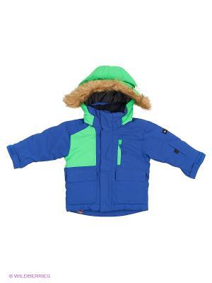 Куртка Quiksilver. Цвет: голубой