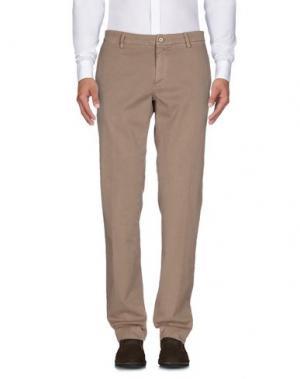 Повседневные брюки EM'S OF MASON'S. Цвет: хаки