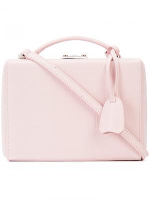 Сума в виде коробки Grace Mark Cross. Цвет: розовый и фиолетовый