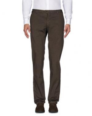 Повседневные брюки L.B.M. 1911. Цвет: темно-коричневый