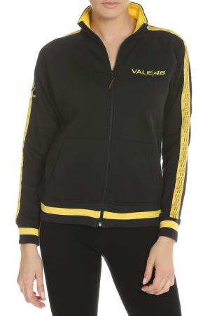 Толстовка Valentino Rossi. Цвет: черный, желтый