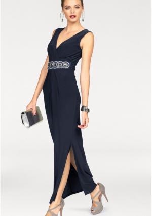 Платье MELROSE. Цвет: темно-синий