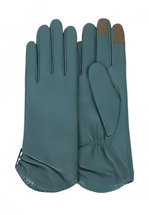 Перчатки Michel Katana. Цвет: бирюзовый