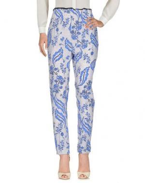 Повседневные брюки VANESSA BRUNO. Цвет: синий
