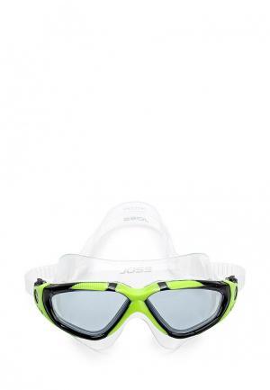 Очки для плавания Joss. Цвет: зеленый