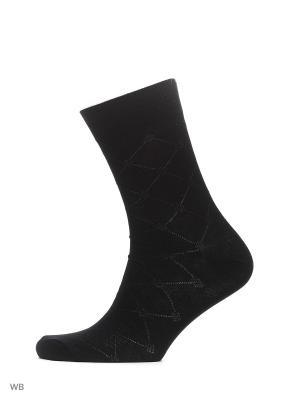 Носки классические (2 пары) HOSIERY. Цвет: черный