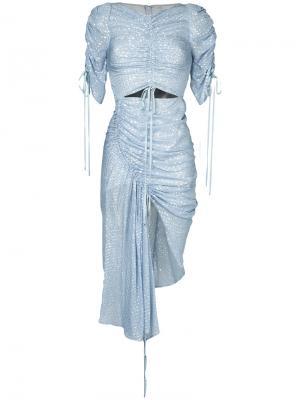 Платье I Feel It Coming Alice Mccall. Цвет: синий