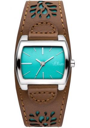 Наручные часы s.Oliver. Цвет: коричневый