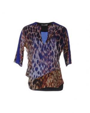 Блузка BOUCHRA JARRAR. Цвет: темно-синий
