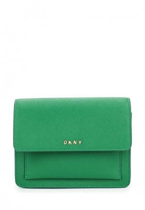 Сумка DKNY. Цвет: зеленый