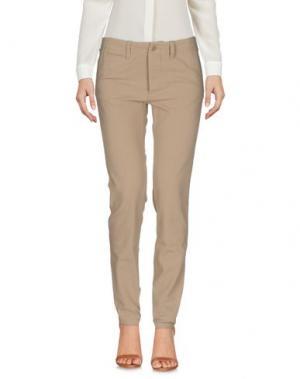 Повседневные брюки NLST. Цвет: верблюжий