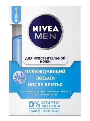 Nivea Лосьон после бритья Охлаждающий для чувствительной кожи 100мл. Цвет: серебристый