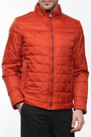 Куртка с 2-мя карманами на молнии Otto Kern. Цвет: оранжевый
