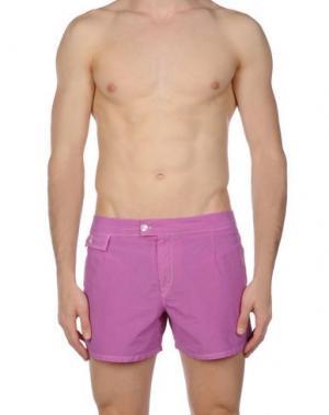 Шорты для плавания MOSAIQUE. Цвет: светло-фиолетовый