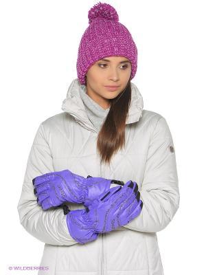 Перчатки Stayer. Цвет: фиолетовый, черный