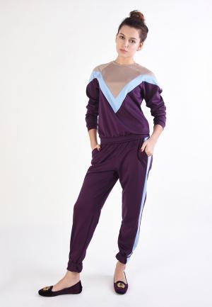 Костюм спортивный Tailor Che. Цвет: фиолетовый