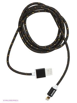 Кабель-переходник USB-8pin Black (CB110-U8-15B) WIIIX 1,5 m. Цвет: черный