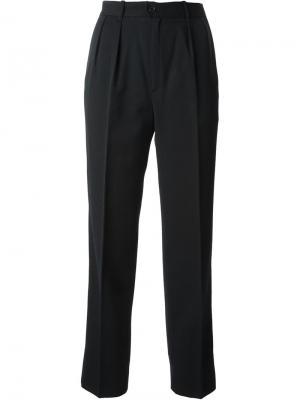 Укороченные брюки Guy Laroche Vintage. Цвет: чёрный