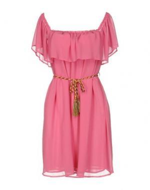Короткое платье KARTIKA. Цвет: розовый