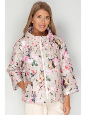 Женская Куртка Vis-a-vis. Цвет: бежевый