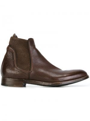 Ботинки челси Sasha Alberto Fasciani. Цвет: коричневый