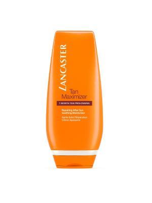 After Sun - Tan Maximizer Успокаивающий увлажняющий крем для всех типов кожи, 125 мл LANCASTER. Цвет: прозрачный