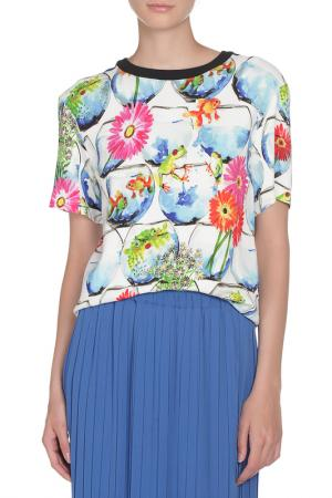 Блуза GIULIA ROSITANI. Цвет: цветной