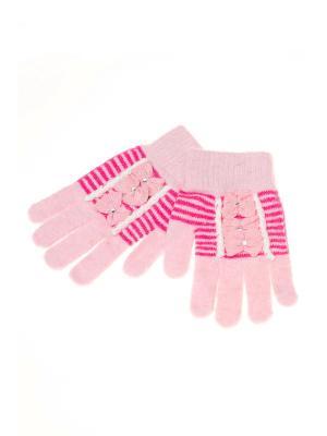 Перчатки Shapkoff. Цвет: бледно-розовый