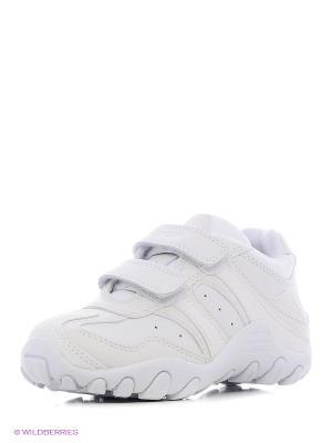 Кроссовки GEOX. Цвет: белый