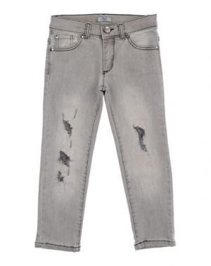Джинсовые брюки GRANT GARÇON. Цвет: серый