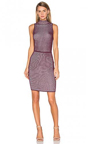 Платье миди confident Bailey 44. Цвет: красное вино