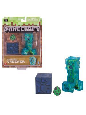 Игровой набор MINECRAFT  Крипер с аксесс.. Цвет: прозрачный
