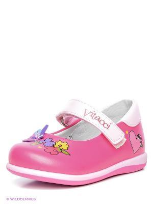 Туфли Vitacci. Цвет: розовый, бледно-розовый