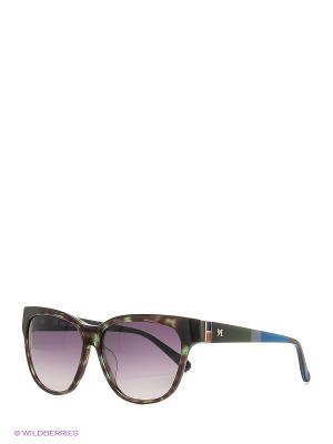 Солнцезащитные очки MM 611S 03 Missoni. Цвет: зеленый