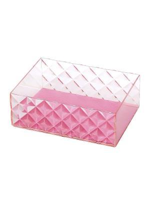 Шкатулка для аксессуаров Diamond DEEPOT. Цвет: розовый