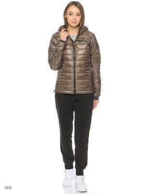 Куртка W TX CLMHT AD J Adidas. Цвет: темно-серый