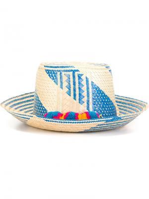 Шляпа Miku Yosuzi. Цвет: телесный