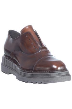 Low shoes FORMENTINI. Цвет: dark brown