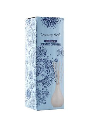 Ароматический диффузор Ice Flower с ароматом ванили Country Fresh. Цвет: прозрачный