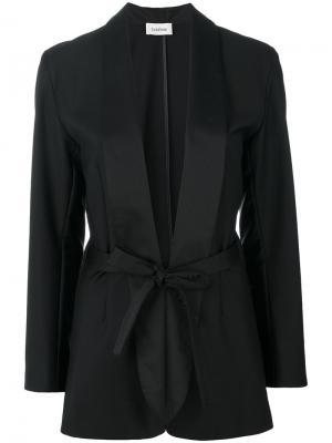 Wrap blazer Toteme. Цвет: чёрный