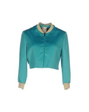 Куртка KARTIKA. Цвет: зеленый