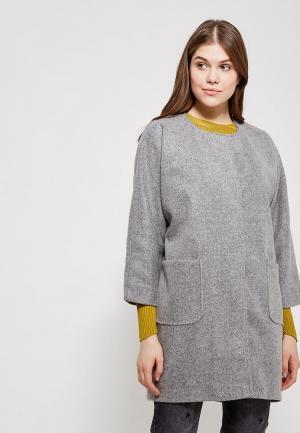 Пальто Magwear. Цвет: серый