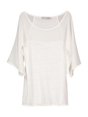 Блузка DS. Цвет: молочный