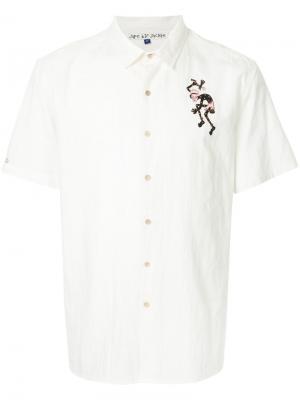 Рубашка с короткими рукавами Jupe By Jackie. Цвет: белый